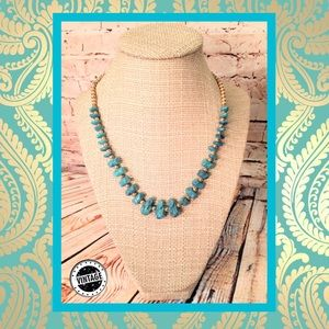 📿 Vintage Turquoise Necklace
